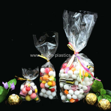 Clear Flat Cellophane Treat Bags Good For Bakery