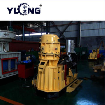 Flat die soybean meal pellet machine high quality