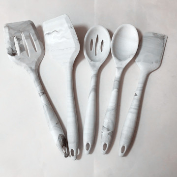 best factory price silicone kitchen items pattern utensils