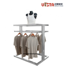 Custom Stainless Steel Clothing Display Stand