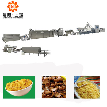 Breakfast cereals equipment nutritional corn flake machine