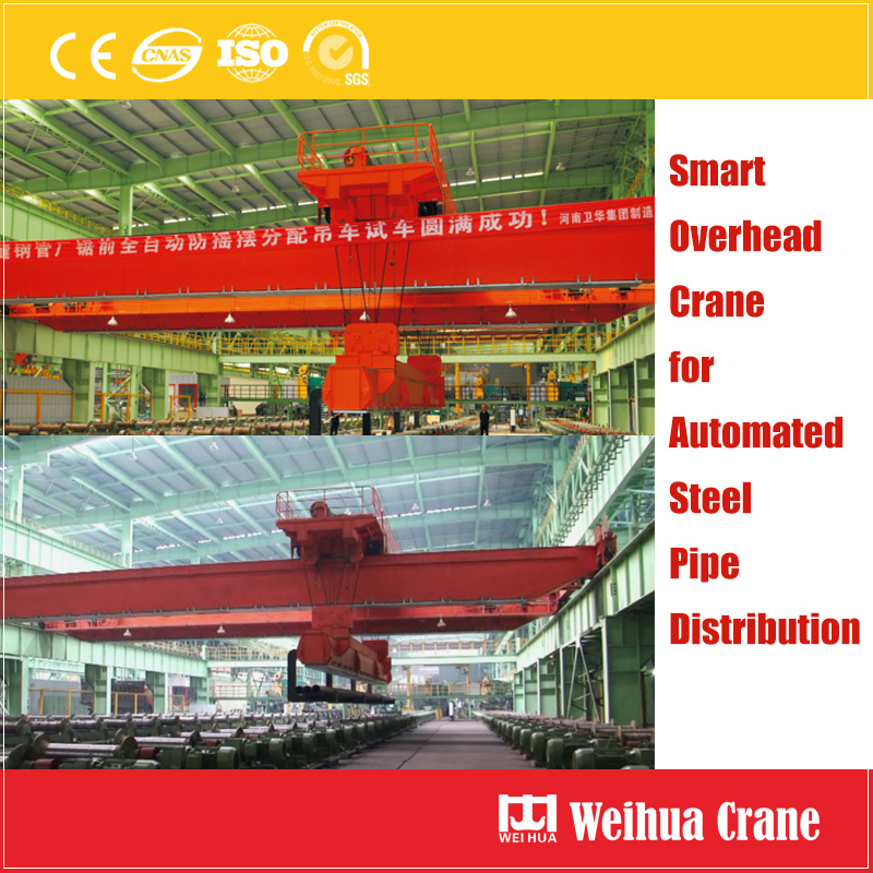 Steel Pipe Distribution Crane