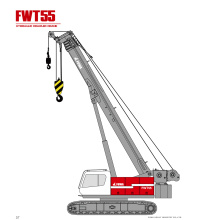 Crawler Crane with Telescopic Boom