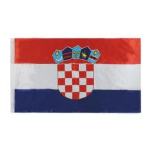World flag Croatia National Day banner