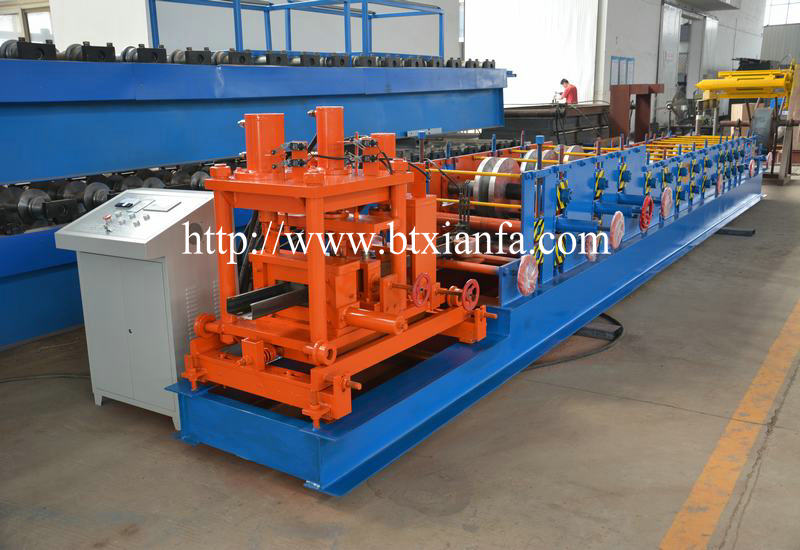 Galvanized C Shape Purlin Roll Forming Machine