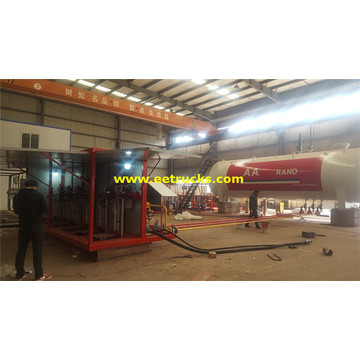 60 CBM Skid Cooking Gas Filling Plants