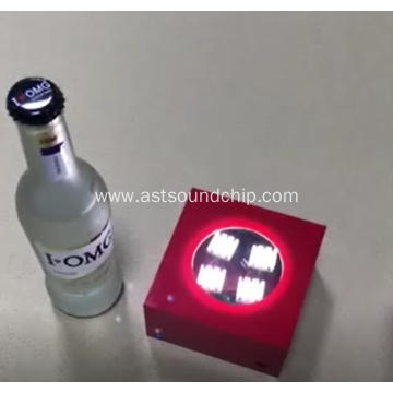 LED Flashing Module for Acrylic box,Acrylic box with led for Bottle or cosmetics