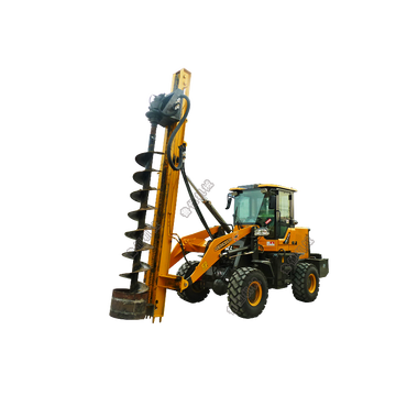 HW936X Loader Spiral Pile Machine