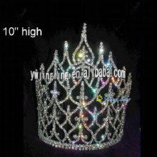 10 Inch big special tiara pageant crown