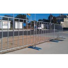 Cheap Customized Metal Silver Steel Crowd Control Barrier