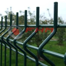 Green Color 3D PVC Coated Welded Fence with High Security