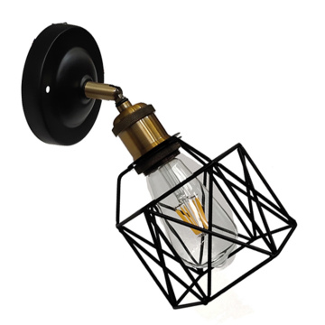 Black Wall Lamp Designed for Interior Decoration Lighting