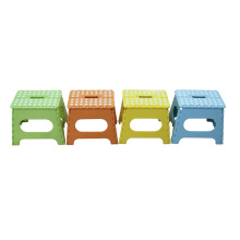 A Plastic Folding Step Stool