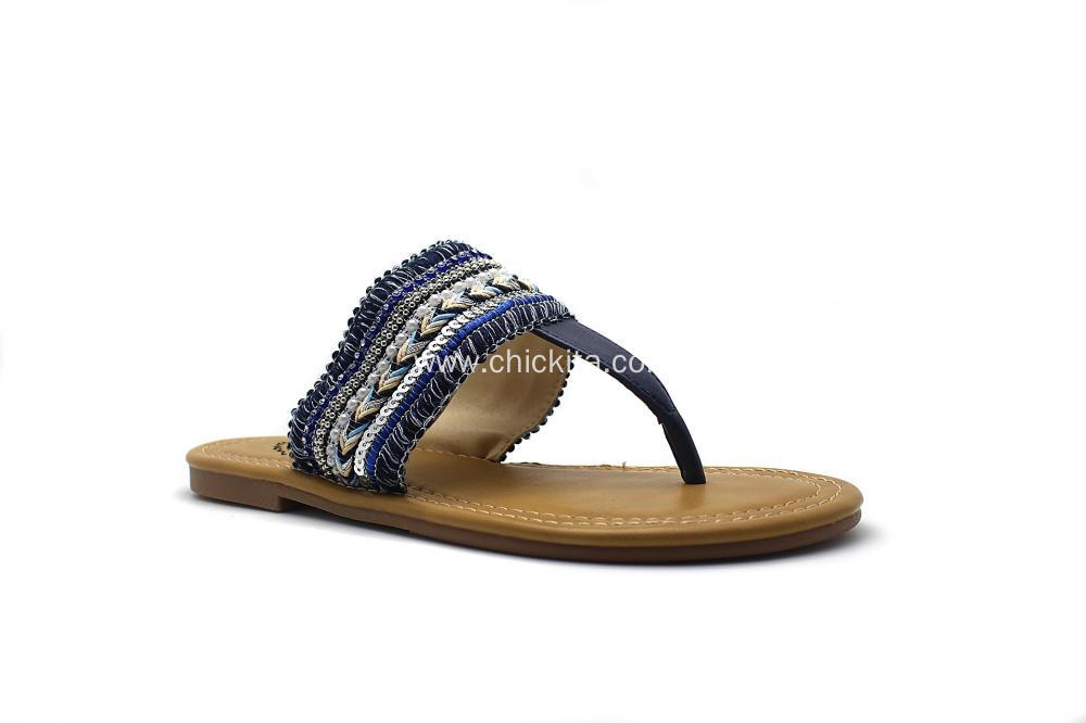 Ladies fashion slippers With Tassel decoration