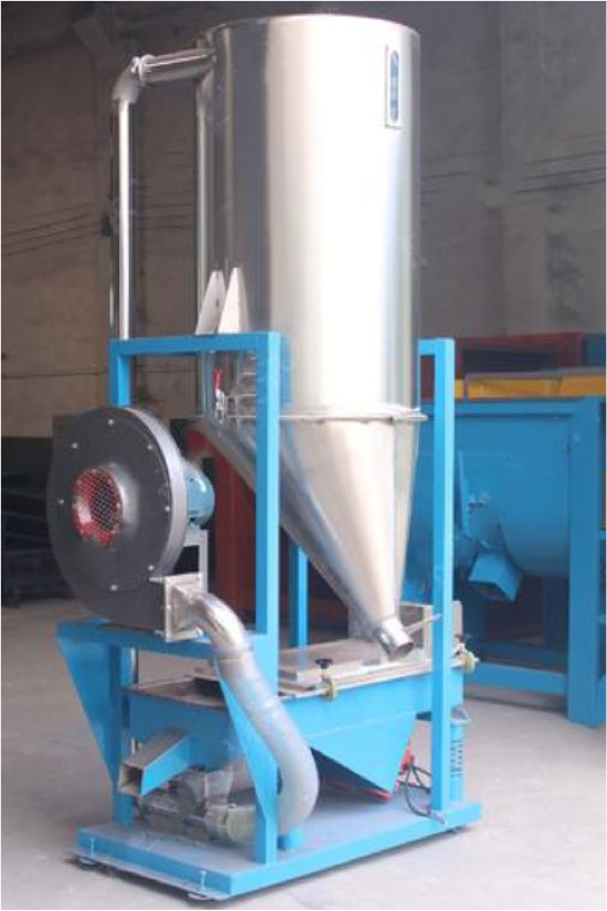 Vibrating Sieve Air Blower And Silo