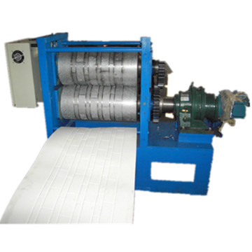Simulation brick pattern metal embossing production line