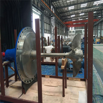 Industrial Pump with Propeller