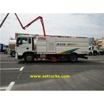 HOWO 3000 Gallon Street Sweeper Trucks