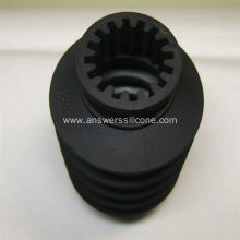 Customized Rubber Spacer Black Silicone Rubber Bushing