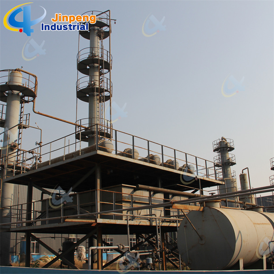 free installation waste oil distillation machine