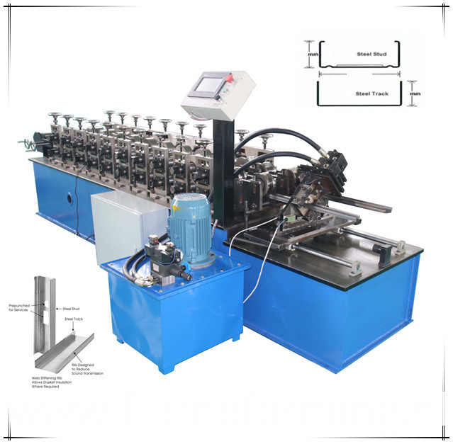 drywall channel forming machine