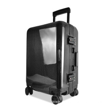 black carbon fiber luggage cabin size