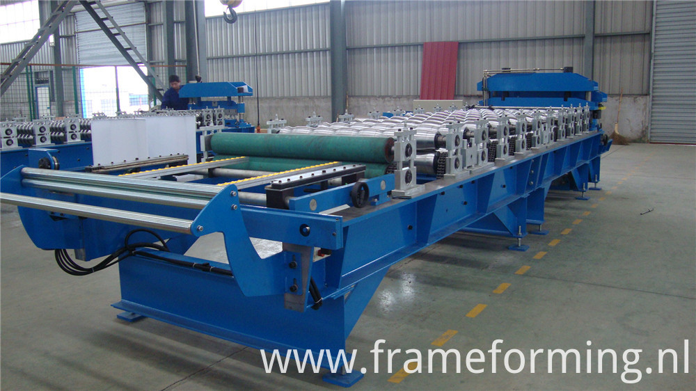 950 Aluminium Step Tile Roofing Sheet Corrugation Machine