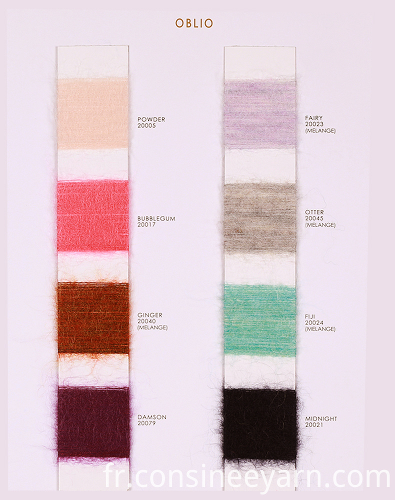Wool Mohair Yarn
