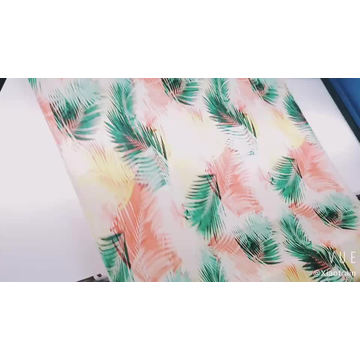 Woven 100% Rayon Printed Viscose Twill fabric