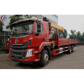 Camion-grue mobile Dongfeng H5 XCMG 12 tonnes