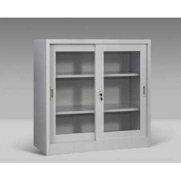 Small Office Steel Storage Sliding Door Cupboards