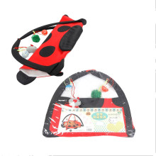 Pet Play Cat Tent Bed Funny Colorful Kitten Pad Cushion Exercise Folding Toy Hammock Bed For Cat Bed