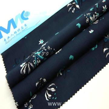 rayon spun viscose fabric with floral designes