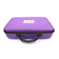 large storage protective empty zipper closure tool case