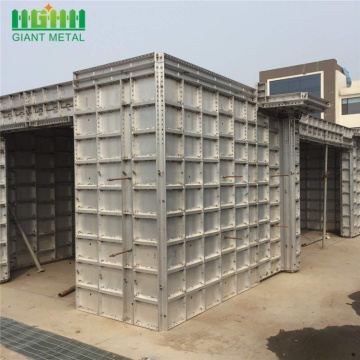 Aluminium shuttering  template for building