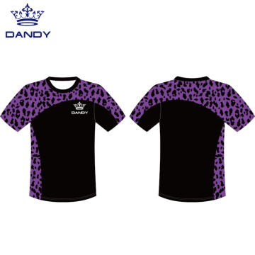 Sublimated leopard shirts