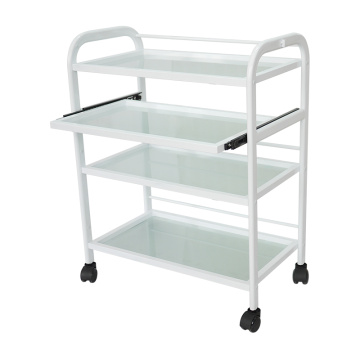 4-Tier Rolling Cart Trolley