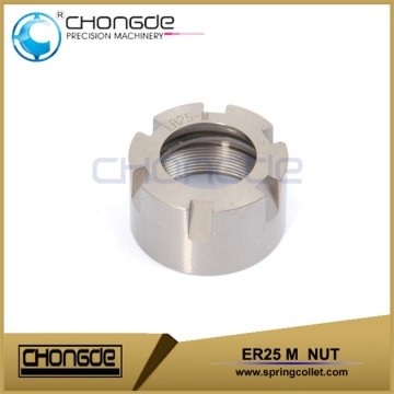 high accuracy & durability ER25UM nut for milling machine