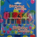 Colorful Birthday Cake Number Candle
