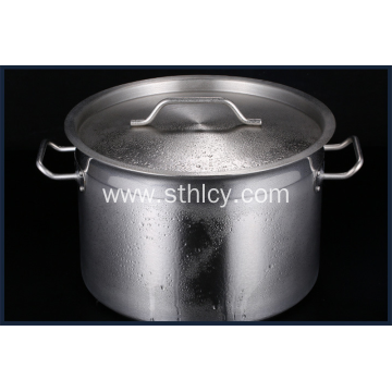 Thickened stainless steel composite bottom soup bucket