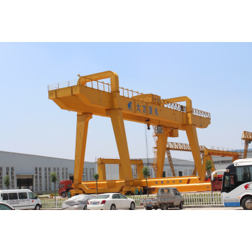 Heavy duty lifting machine 20t double girder gantry crane