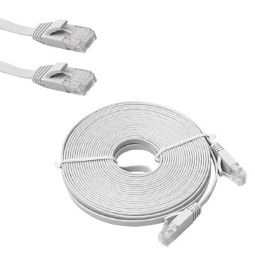 Slim Long CAT6 Flat Internet Network Patch Cable