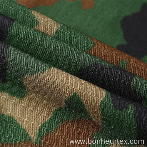 TC Ripstop Blend Military Woodland Camouflage Fabric