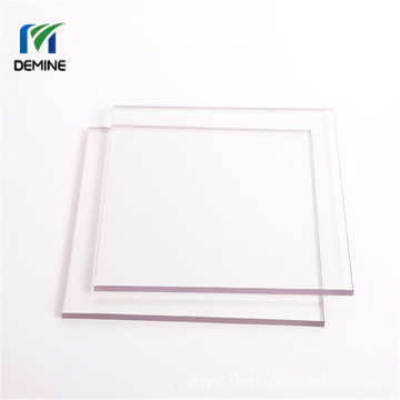 PC windshield double hard coated polycarbonate sheet