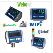 weighing indicator for checking weight