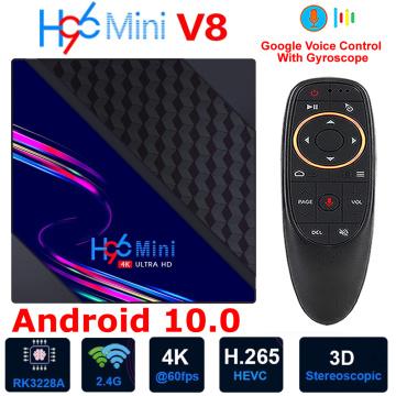 Android 10.0 Smart TV BOX H96 MINI V8 Rockchip RK3228A Quad Core 2GB 16GB WIFI 3D H.265 4K Youtube Set top Box Media Player