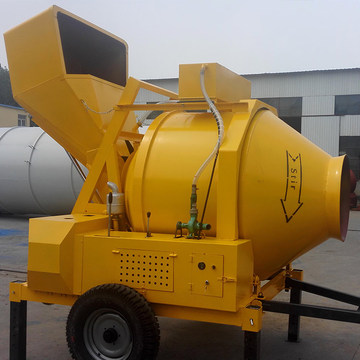 Electric small portable JZC drum concrete mixer