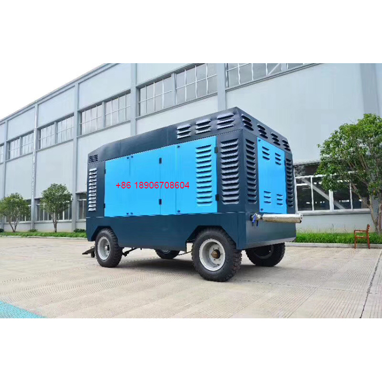 Hongwuhuan 25bar high pressure diesel portable screw air compressors