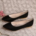 Bridal Flats Ivory Pointed Toe