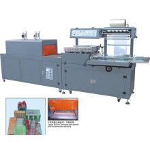 Full automatic film shrink bottles wrapping machine